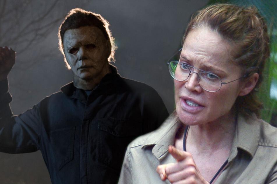 """Doreen Dietels Gesicht wurde von Melanie Müller mit """"Halloween""""-Serienmörder Michael Myers verglichen."""