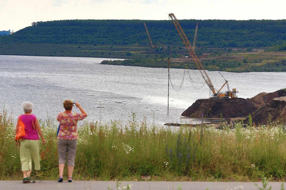 Zehn Jahre nach dem Unglück kann im Concordia See ab Juli gebadet werden.