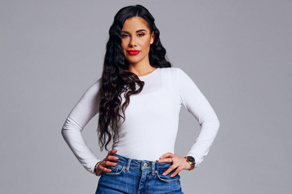 """Maria (35) wird vom Sender als """"Sexbombe"""" angekündigt."""
