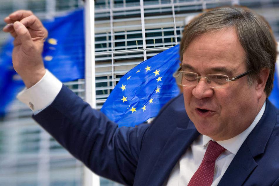 Laschets Appell an NRW-Bürger: Am 26. Mai Entscheidung für Europa treffen