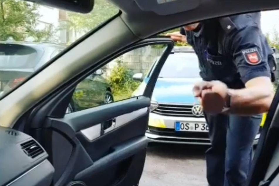 """Die Polizei warnt: """"Bringt euch selbst und andere Verkehrsteilnehmer nicht in Gefahr!"""""""