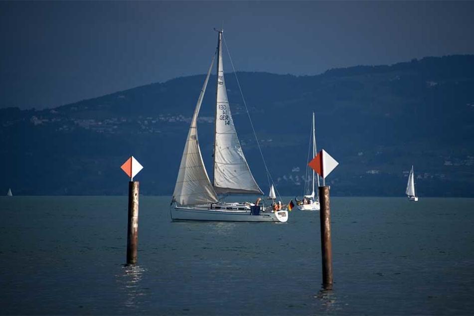 Eine 53-jährige Frau gerät in Boots-Schraube im Bodensee. (Symbolbild)