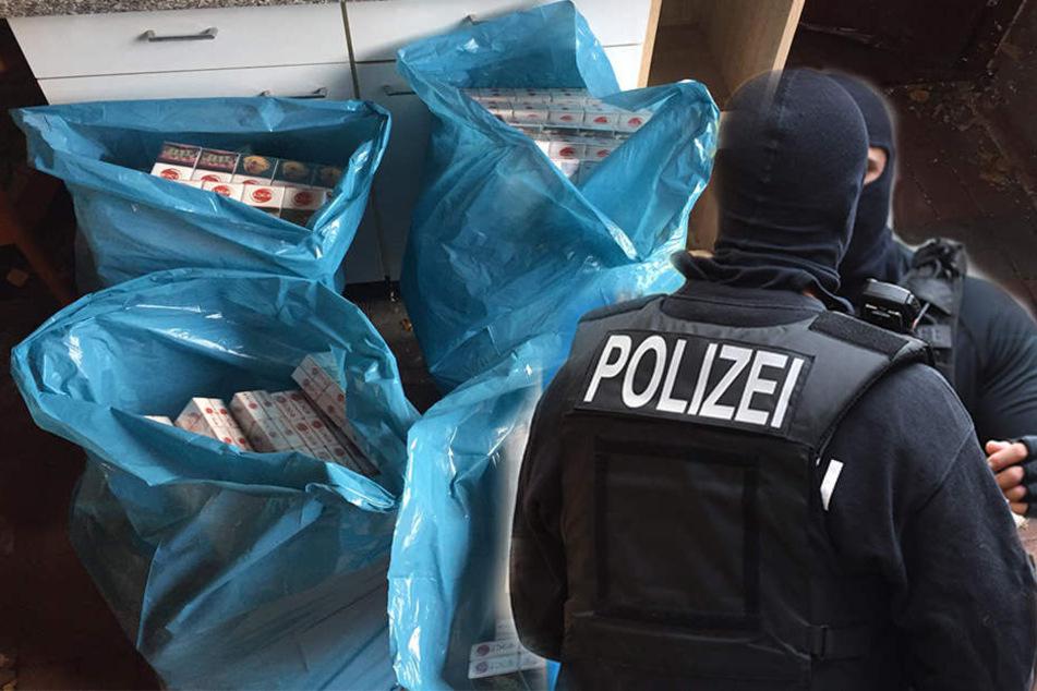 Aus einem Ladenlokal in Kreuzberg heraus verkaufte die Gruppe unversteuerte Zigaretten