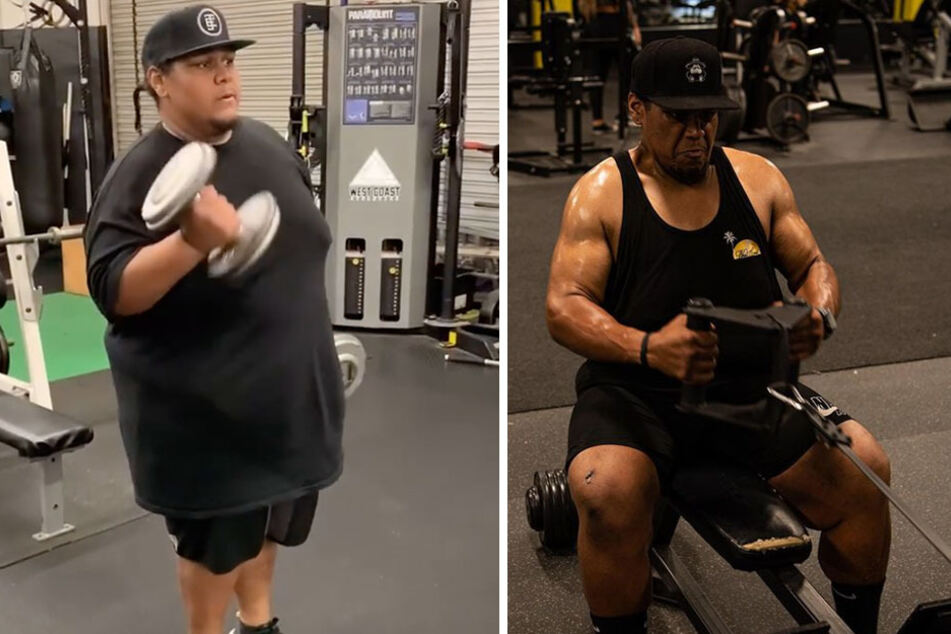 This 600-pound man transformed his body one bike ride at a time!