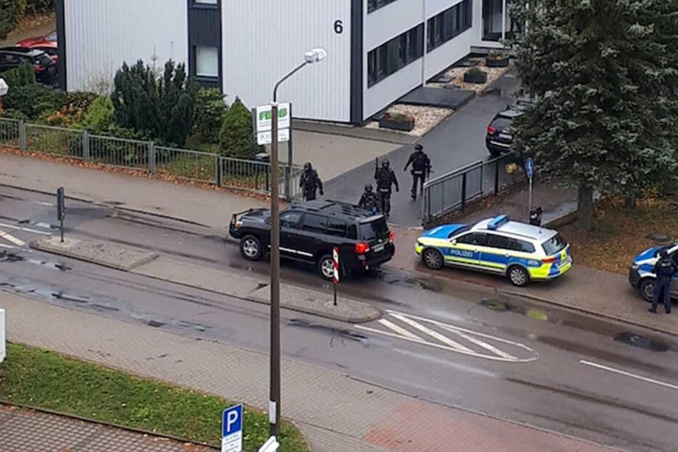 Auf einer Berufsschule in Brand-Erbisdorf kam am Montag eine Drohung auf. Die Polizei ist auf der Hut.