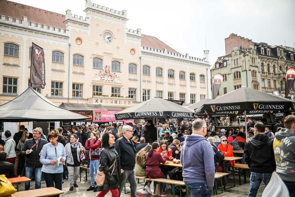 Das Streetfood-Festival gastiert wieder in Zwickau.