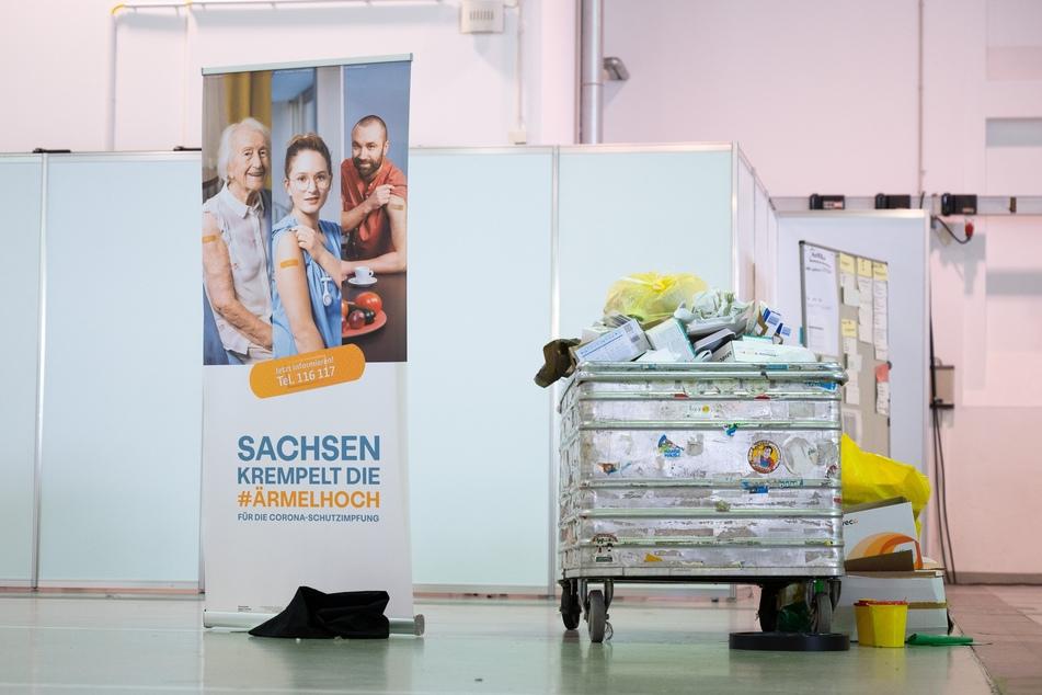Nach gut acht Monaten schließen in Sachsen Ende September die Impfzentren.