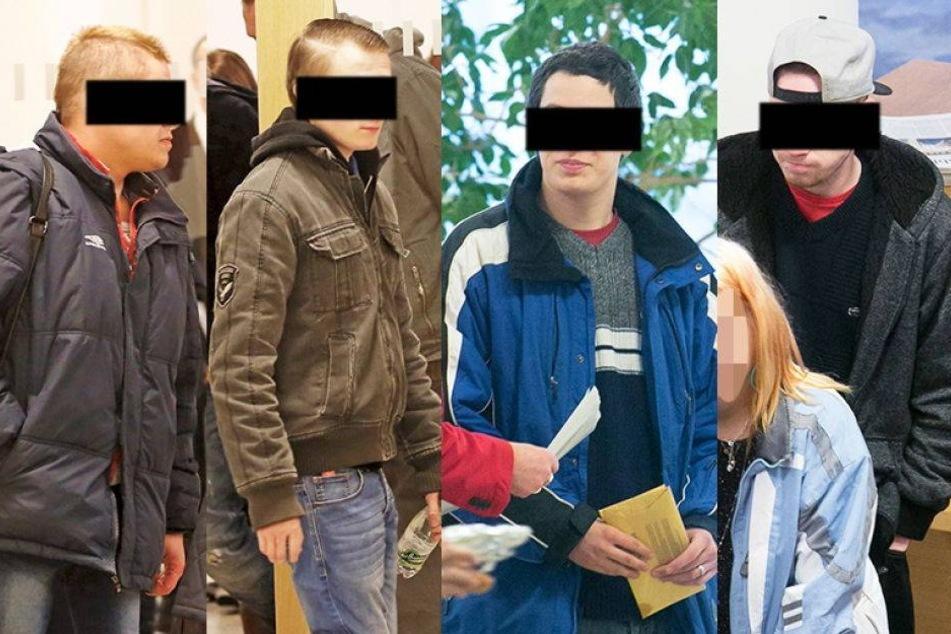 Pullerpause verriet diese vier Einbrecher