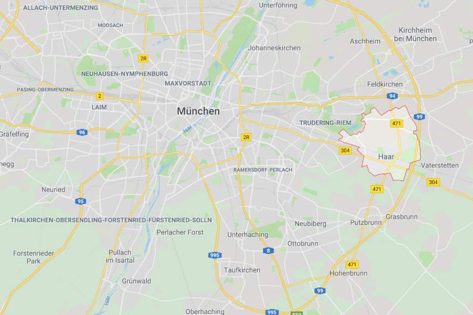 In Bayern ist es im Münchner Stadtteil Haar zu einem schweren Verkehrsunfall gekommen.