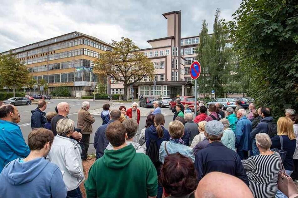 Zahlreiche Besucher strömten zum Tag des Offenen Denkmals in das ehemalige Firmengebäude der Astra-Werke.