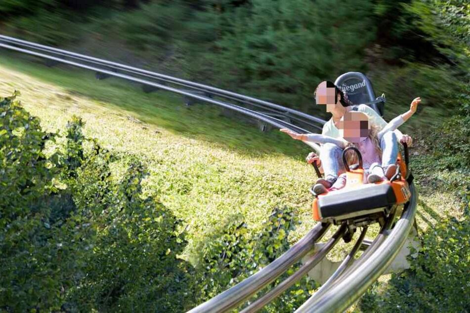 Auf der Sommerrodelbahn in Olsberg kam es zu dem schweren Unfall. (Symbolbild)