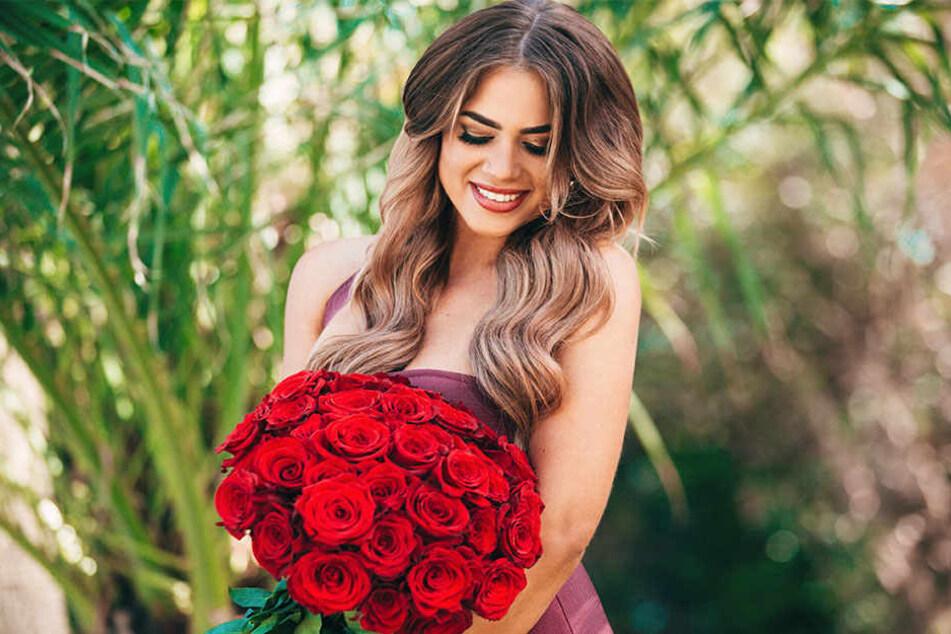 Wer will bei diesem Anblick nicht auch eine Rose ergattern?