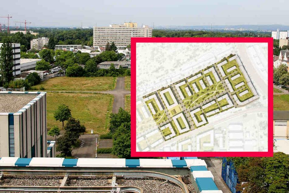 Auf dem ehemaligen Siemens-Areal sollen 2000 Wohnungen entstehen.