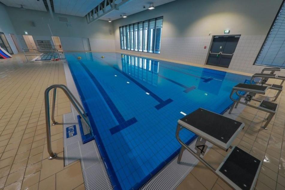 Die Wassertiefe von 1,20 Metern ist zu tief für Nichtschwimmer.