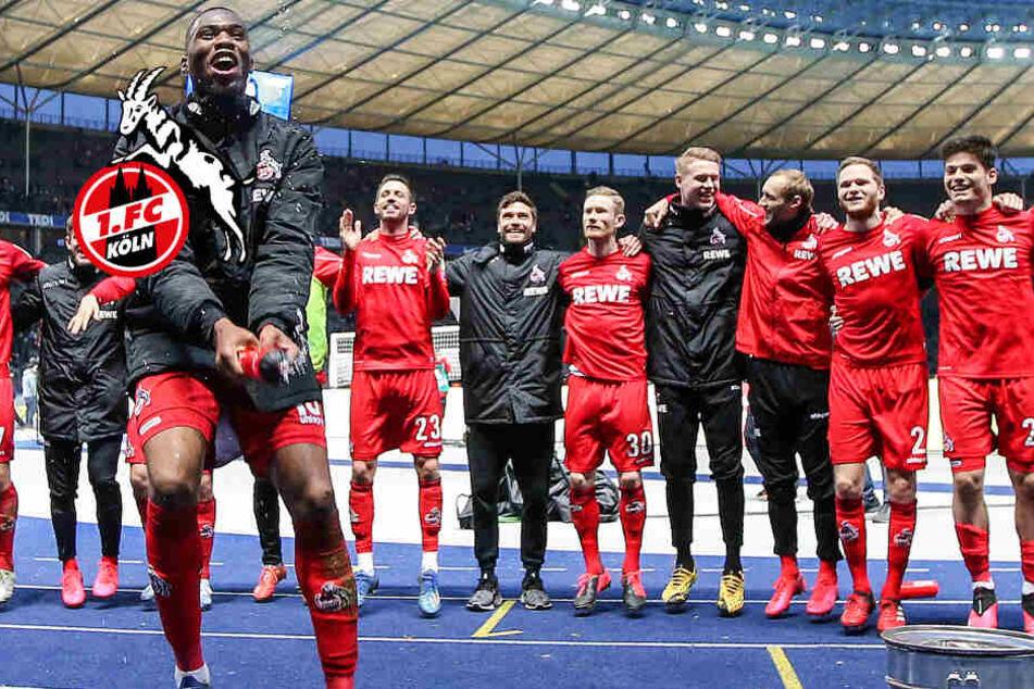 Kölner putzen Hertha BSC weg: Jetzt wird jeck gefeiert!