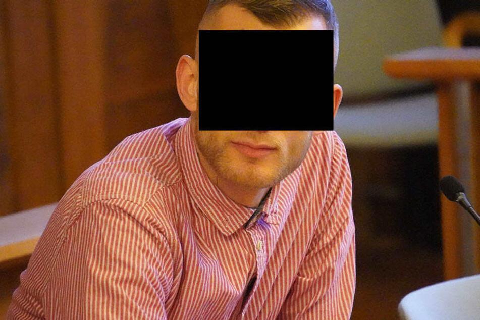 Überfall vergeigt, jetzt vor Gericht: Möchtegern-Rapper Vico K (31).