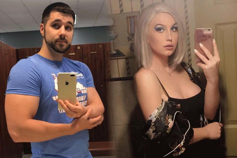 Jared Norris und Erin Anderson geizen auf ihren Selfies nicht mit Reizen.