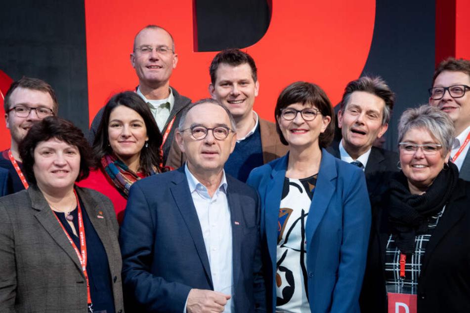 Die Sozialdemokraten wollen am zweiten Tag des Parteitags die Sozialpolitik in den Mittelpunkt stellen.