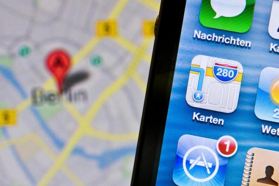 Apple will mit den Daten seine Karten verbessern. (Archivbild)
