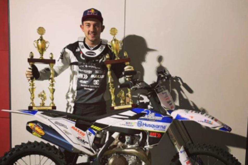 Mit dem Gewinnen kennt sich Luc Ackermann aus und will jetzt Weltmeister werden.