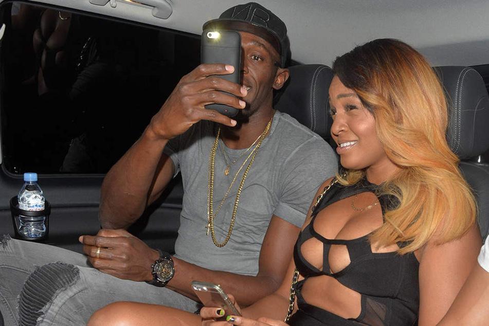 Mit diesem Foto macht Usain Bolt seine Freundin Kati Bennett eifersüchtig und sämtliche anderen Frauen neidisch.