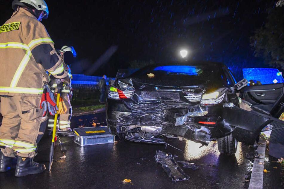 Der 52-jährige Autofahrer wurde schwer verletzt, erlag im Krankenhaus seinen Verletzungen.