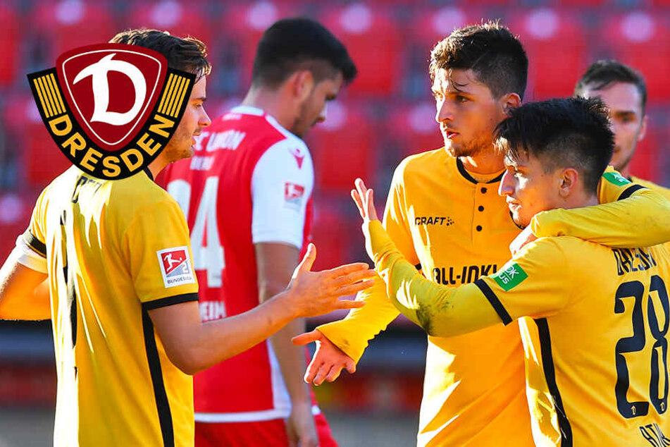 Supergeheimer Test bei Union! Dynamo tankt nach Köln-Klatsche neues Selbstvertrauen