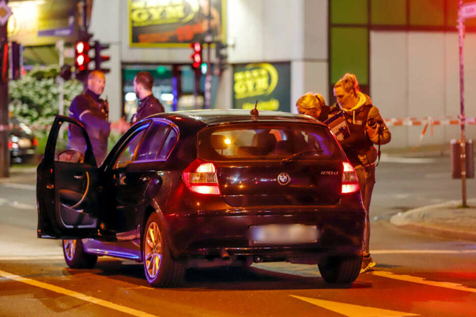 Der Mann soll in diesem Auto gesessen haben, als auf ihn geschossen wurde.