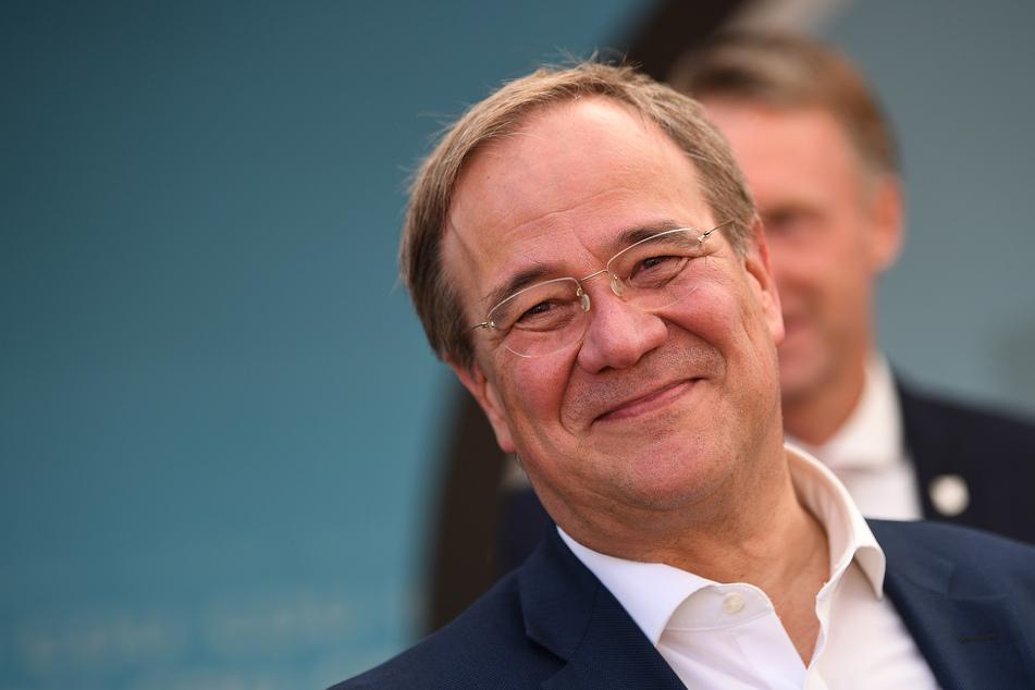 Armin Laschet (60, CDU), Kanzlerkandidat der Union und Ministerpräsident von Nordrhein-Westfalen.
