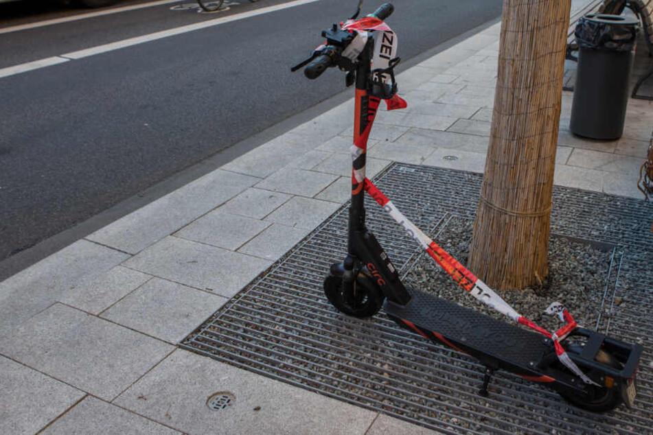 Ist das nur der Anfang? Erster E-Scooter-Unfall in Hamburg