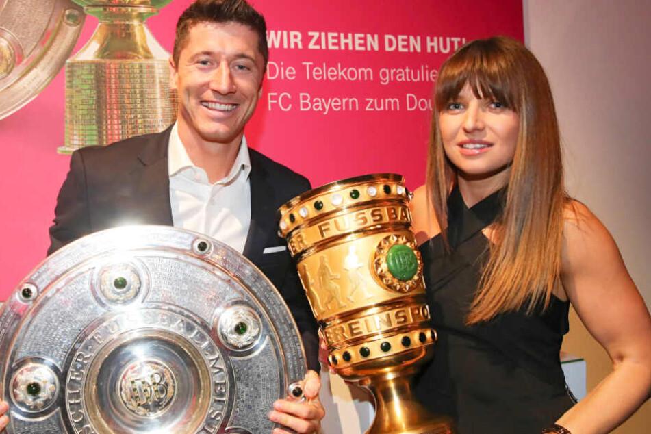 Robert Lewandowski und seine Ehefrau Anna sind ein absolutes Power-Paar.