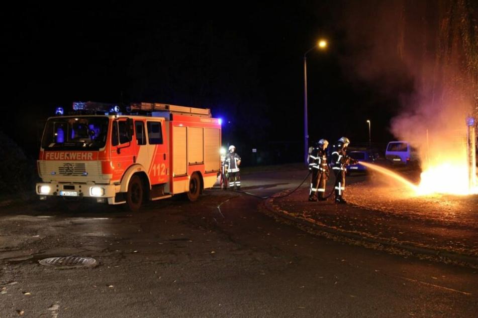 Leipzig: Es hört nicht auf! Schon wieder Flammen in Connewitz