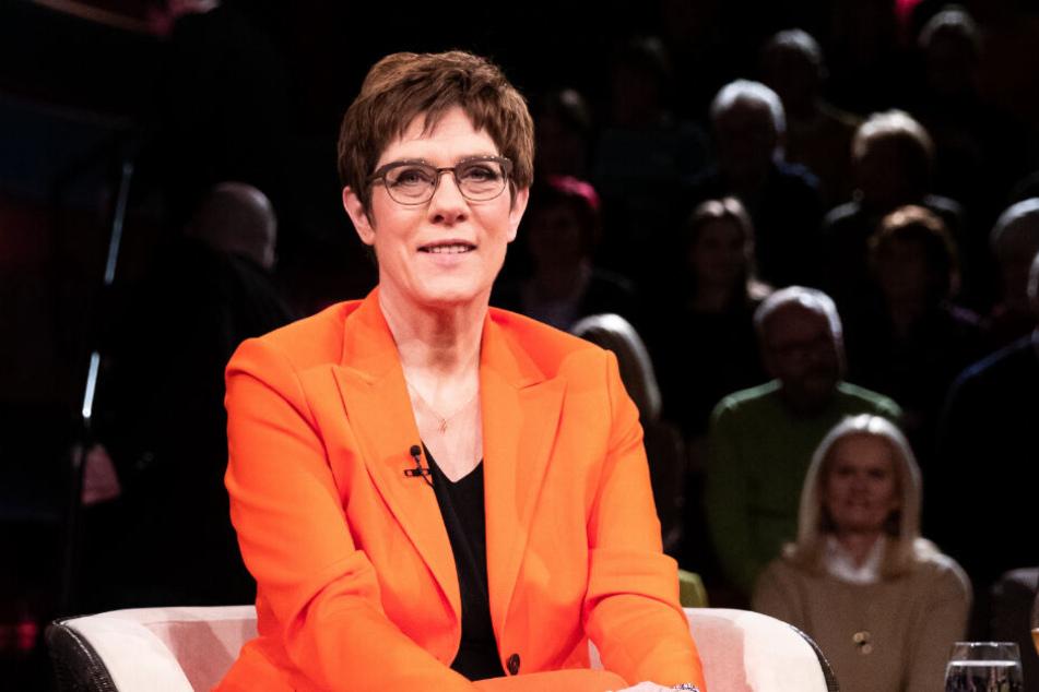 """Die CDU-Bundesvorsitzende Annegret Kramp-Karrenbauer war in der ZDF-Talkshow """"Markus Lanz"""" zu Gast."""