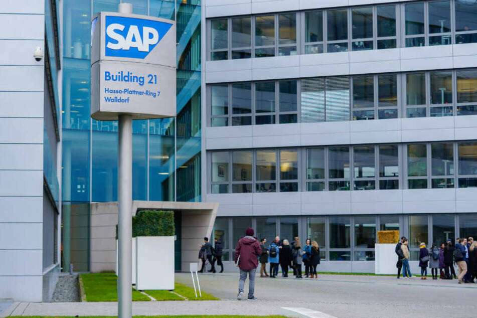 Die SAP-Konzernzentrale in Walldorf.
