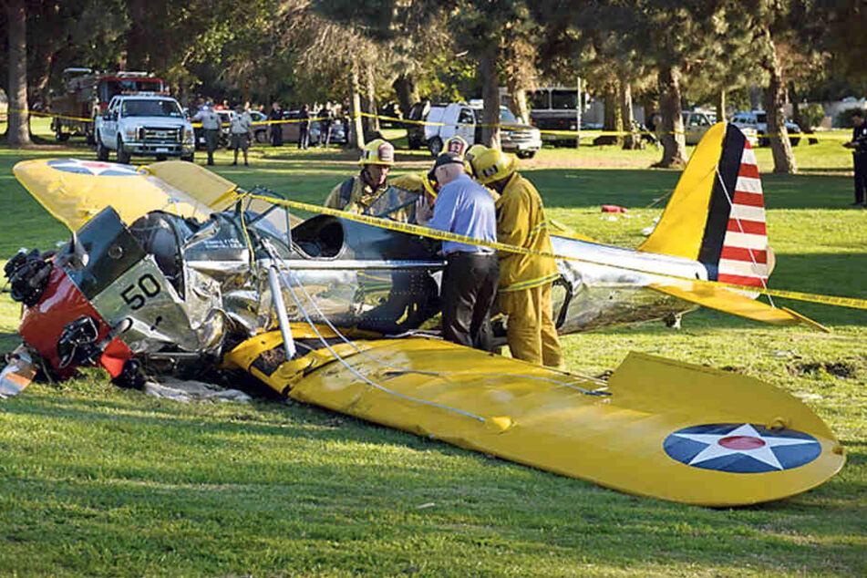 Bereits 1999 legte Harrison Ford  eine Bruchlandung hin. 2015 musste er wegen eines Motorschadens auf einem  Golfplatz notlanden. Dabei erlitt er Knochenbrüche und Schnittwunden.