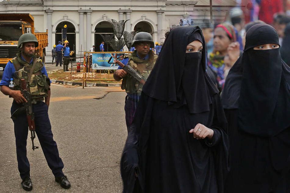 Nach blutigen Anschlägen an Ostern: Sri Lanka will Burkas verbieten