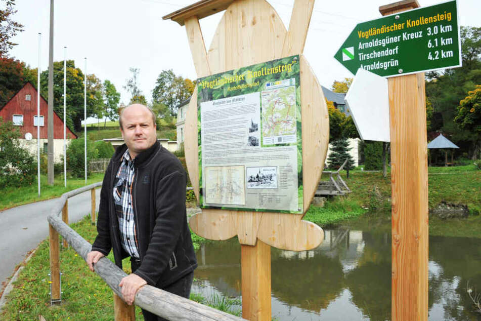 Andreas Kracke hat inzwischen den Bürgermeistersessel geräumt. Er fühlt sich zu Unrecht diffamiert.