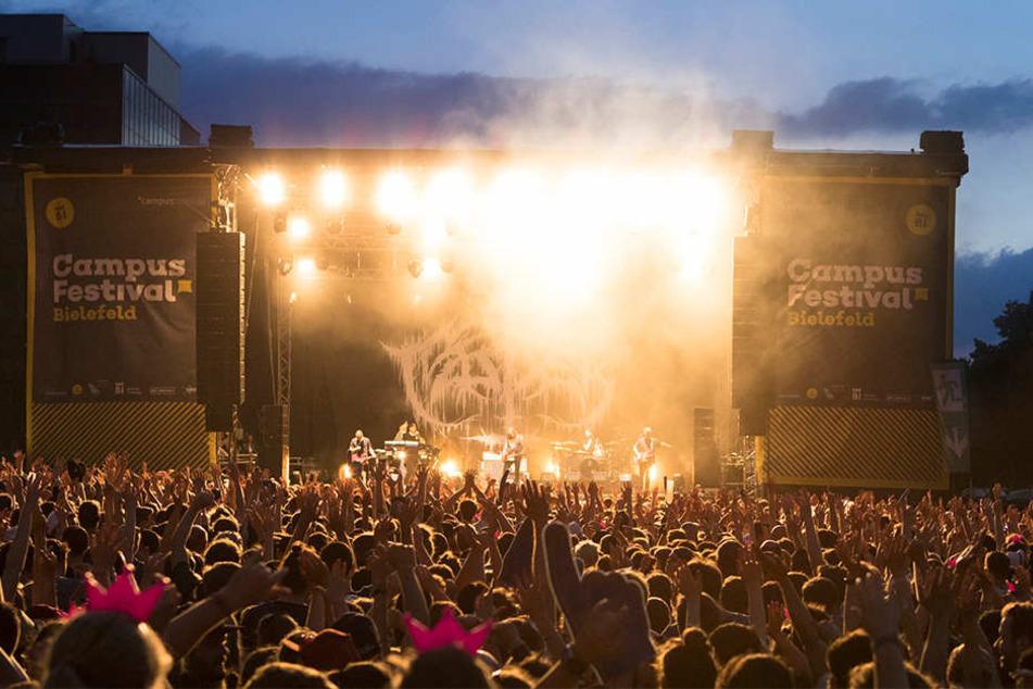 Am 21. Juni 2018 steigt das vierte Campus Festival.