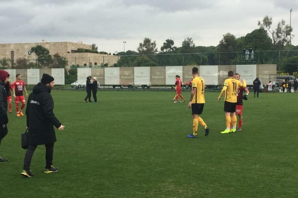 Dynamo verlor gegen den FC Aarau.