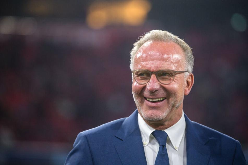 Karl-Heinz Rummenigge hat in einem Interview sein Lob gegenüber RB Leipzig ausgesprochen.