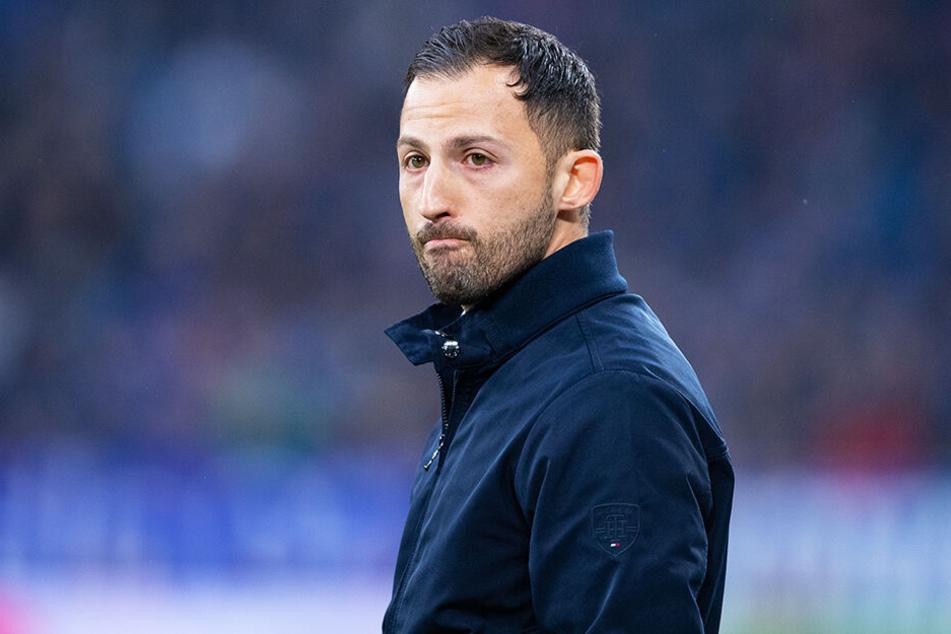 Musste nach fünf Niederlagen in Folge gehen: Domenico Tedesco.
