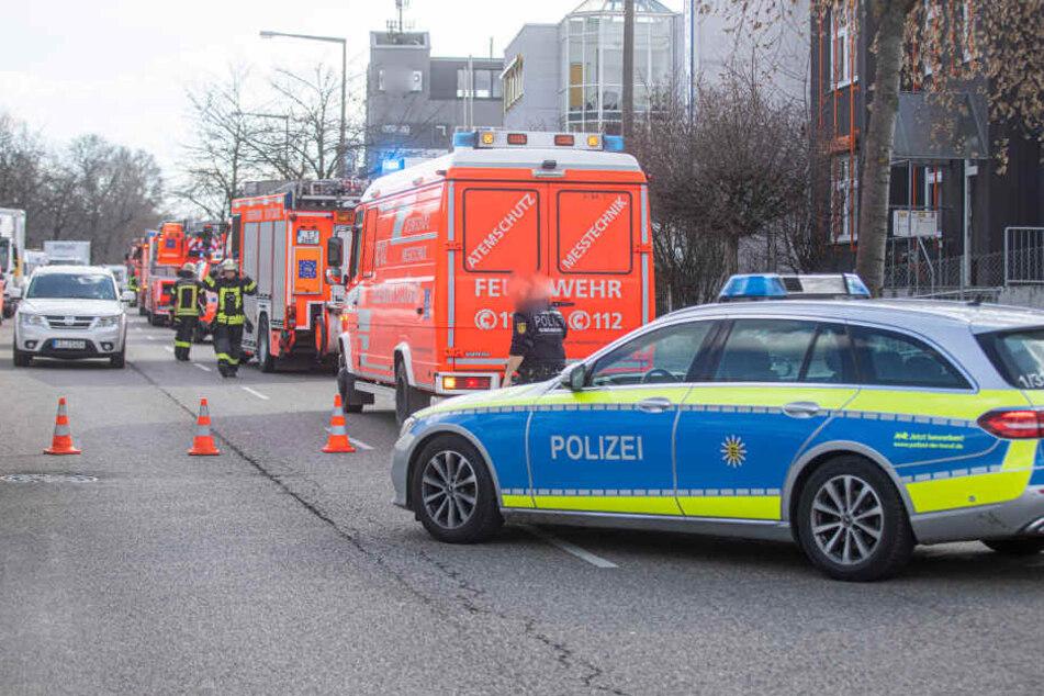 Stuttgart: Sieben Verletzte nach heftigem Brand in Schreinerei