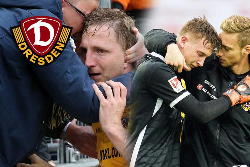 Dynamo-Pleite in Köln: Die halbe Mannschaft bricht in Tränen aus