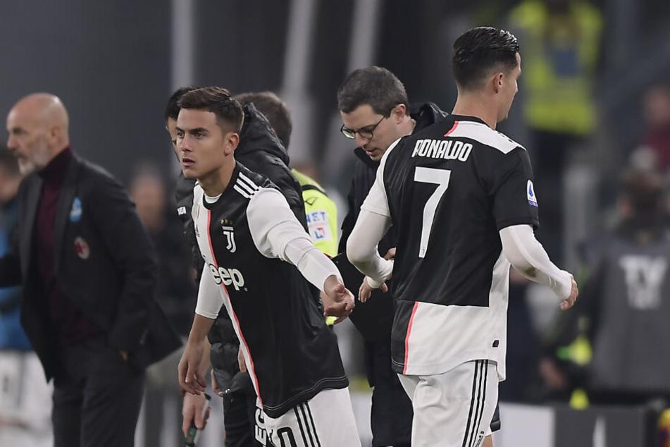 Dybala rein, Ronaldo raus. Bereits nach 55 Minuten war für den Portugiesen Schluss. Der Argentinier markierte in der 77. Minute anschließend den 1:0 Siegtreffer.