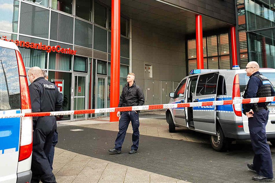 Diesmal gab es eine Bombendrohung gegen das Jugendamt im Chemnitzer Zentrum.