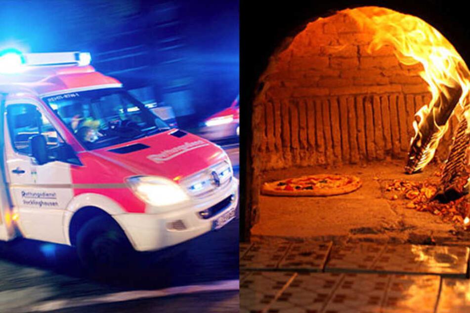 Großeinsatz beim Pizzabacken: Neun Frauen verletzt