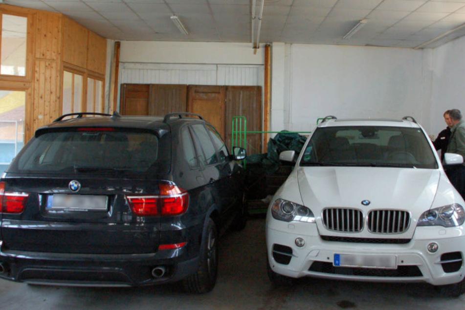 Vor allem auf hochwertige SUVs und Limousinen hatte es die Bande abgesehen. (Symbolbild)