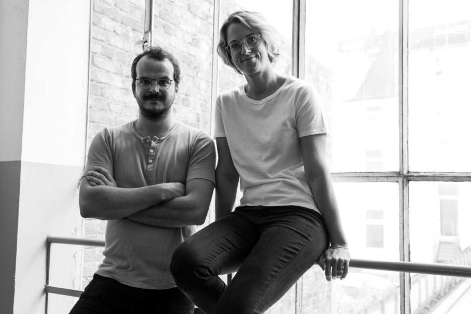 Die Gründer Sarah Grohé und Benjamin Sadler.