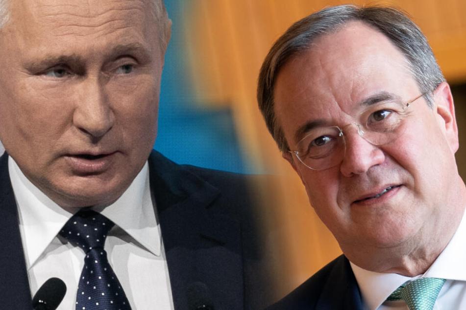 Armin Laschet über Putin und Russland: Klartext bei Krim, aber im Gespräch bleiben!