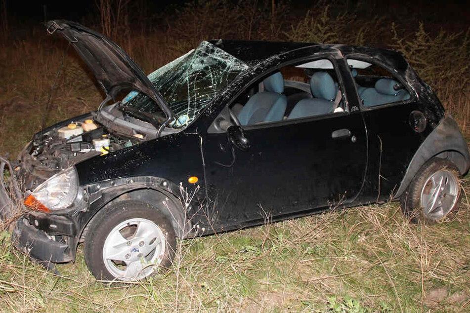 Am Auto entstand ein Schaden von zirka 4000 Euro.